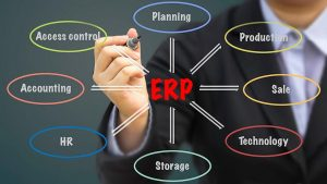 how to use ERP software